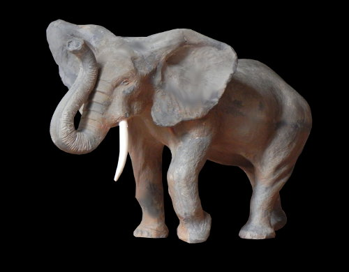 sculpture éléphant