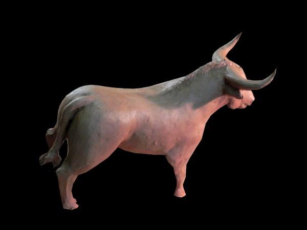 taureau de bronze